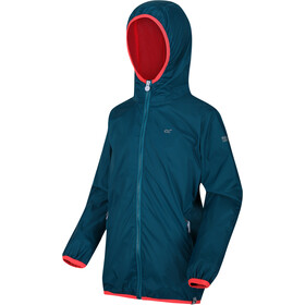 Regatta Lever II Waterproof Shell Jacket Kids gulfstream